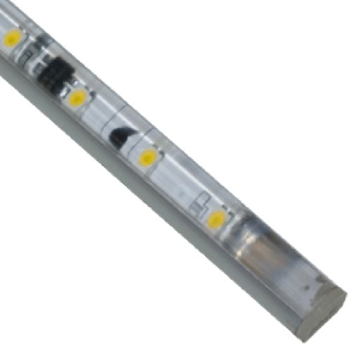 "picture of Jesco Lighting S601-12/40-AL LED Slim Stix 12"" Linkable Cove Display Light Strip, 4000K Color, Aluminum Finish"