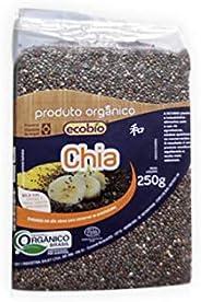 Chia Orgânica Em Grãos Ecobio Produto Orgânico 120G