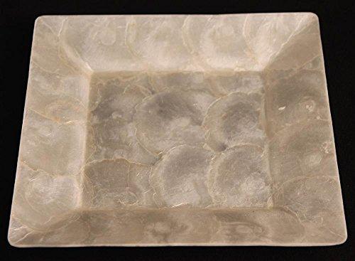 - Square Capiz Shell Tray