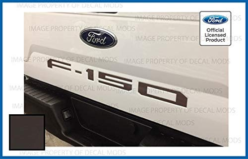 Decal Mods Tailgate Decals Stickers Letters Kit Insert Indent Brown for Ford F150 (2018-2019) (Thin) - Caribou ()