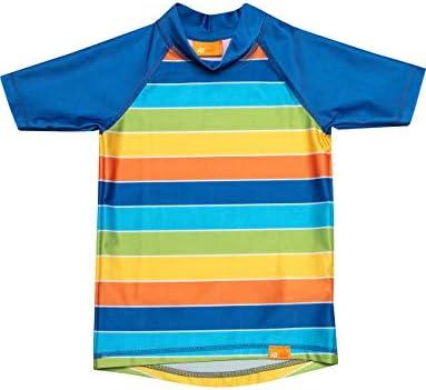 UV Shirt Kinder Stripes Rainbow