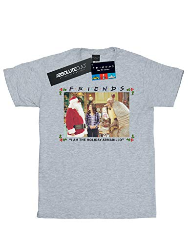 Femme Am Absolute Petit I Cult Ami The Fit Holiday Gris Sport T Friends Armadillo shirt qwrIwEd8
