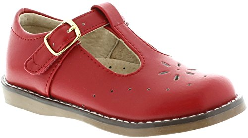 FootMates Sherry (13.5 Little Kid M/W, Apple Red)