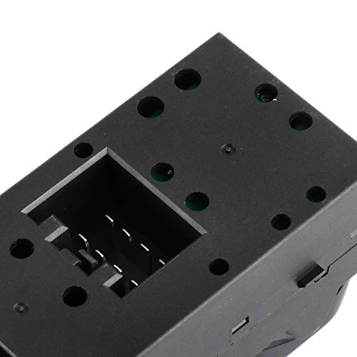 LSAILON Master Power Window Switch Front Driver Side fits for 2007-08 2002-06 2003-06 2005-08 Ford F150 Truck 2004 2006-08 2002-06 2003-04 Mercury Grand Replace for the Factory OE5L1Z14529AA