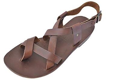 045077aad Bodrum Sandal Men s Handmade Leather Sandal Bras (44 EU MEN) new ...