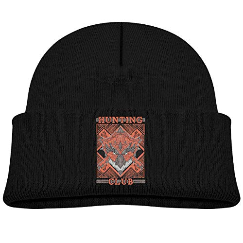 MUPTQWIU Hunting Club Rathalos Children's Beanie Hat Cap Cuf