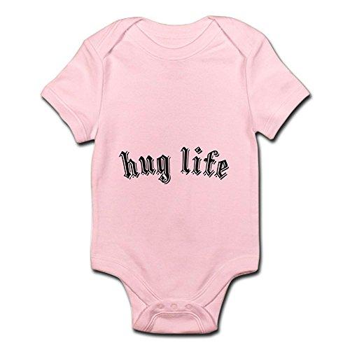 CafePress Hug Life - Cute Infant Bodysuit Baby (Old Gangster Suits)