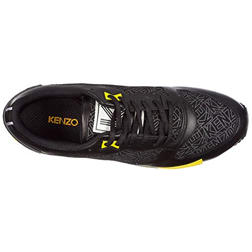 edc8867898d5 Kenzo Flying Logo Basket Homme Nero 38 EU  Amazon.fr  Chaussures et Sacs