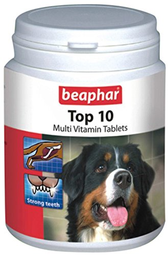 Beaphar Top-10 Dog Supplement, 160 Tablets