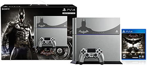 Sony PlayStation 4 500 GB Consola - Batman Arkham Knight paquete ...