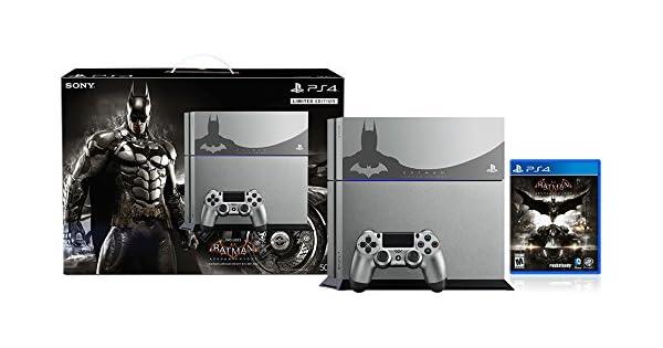 Sony PlayStation 4 500 GB Consola - Batman Arkham Knight paquete ...