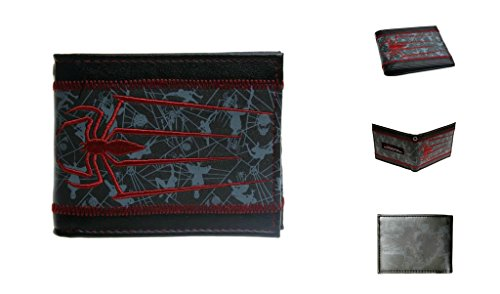 J&C Marvel Comics The Amazing Spiderman Bi-fold Men's Boys Wallet ()