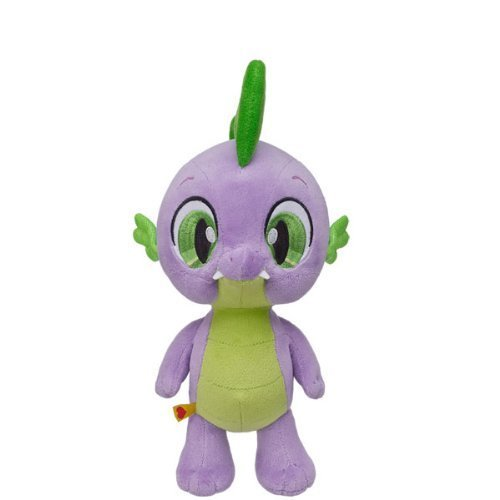 Build a Bear Workshop, 10 in. MY LITTLE PONY MINI SPIKE THE DRAGON Stuffed Animal
