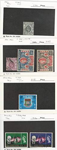 Hong Kong, Postage Stamp, 132, 140, 174-5, 199, 226, 228 Used, 1931-66, JFZ