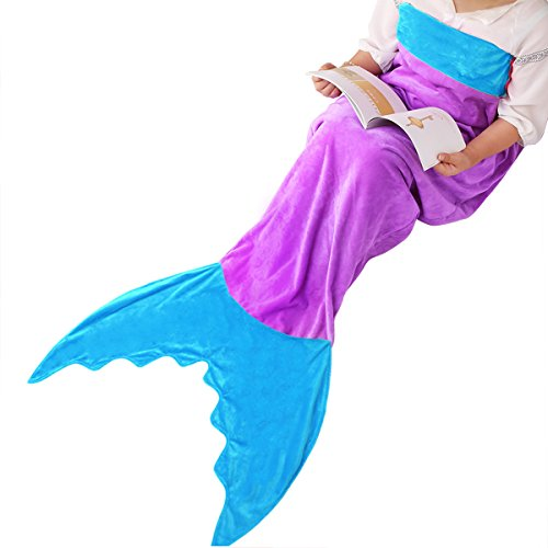 Polar Fleece Mermaid Tail Blanket