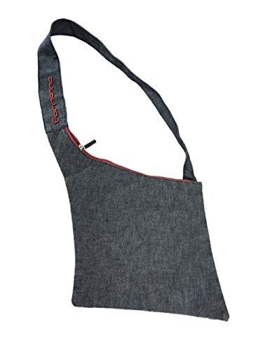 Fornarina Women Flat Denim Shoulder Bag AEFB025