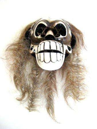Skull Statue Skull Decor Skull Mask Skull And Cross Bones Skeleton Head - Collector's Item- OMA BRAND ()