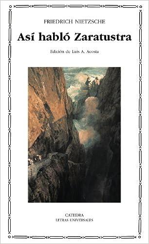 Friedrich Nietzsche Thus Spoke Zarathustra Pdf