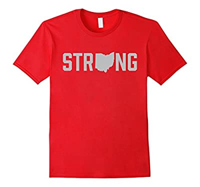 Ohio State Home Strong Fitness Gym Workout T-Shirt
