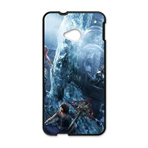 HTC One M7 Cell Phone Case Black Final Fantasy Type 01 Tosq