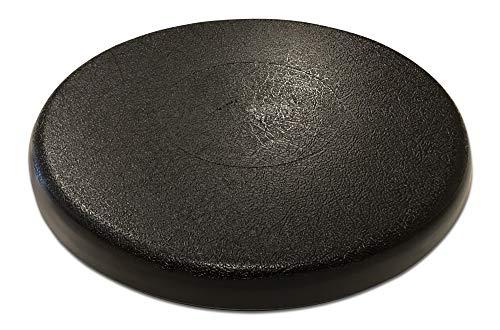 Black Bucket Lid Seat for 5 gallon bucket by Bucket Lidz