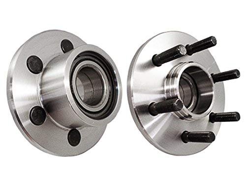 Bodeman - 2WD Models ONLY Pair (2) Front Wheel Hub & Bearing Assembly w/rear wheel ABS for 1999 2000 2001 2002 2003 Dodge Durango 1997-2001 2002 2003 2004 Dodge Dakota 515032 x2