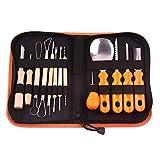 14Pcs/Set Pumpkin Carving Tool StarALL Halloween Professional Pumpkin Carving Tool Set Easily Carve Sculpt Tool Kit