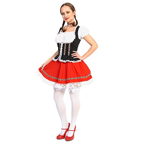 Beer Garden Girl Adult Costume S - German Costumes For Girls