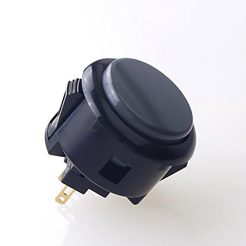 Sanwa 6 Pcs/Lot OBSF-30 OEM Arcade Push Button  - Black