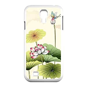 Beautiful lotus Personalized Cover Case with Hard Shell Protection for SamSung Galaxy S4 I9500 Case lxa#892247 Kimberly Kurzendoerfer