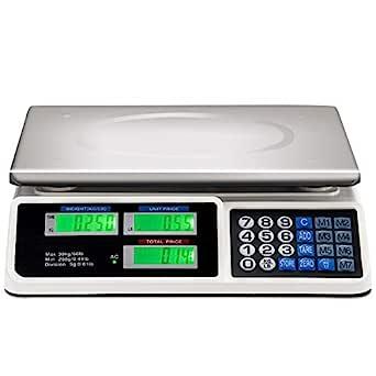 Báscula Electrónica Digital De Cocina 7Kg//1Gr Precisión Balanza Pesa