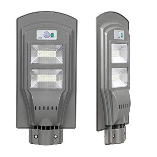 ECO LLC 40W LED Solar Powered Wall Street Light PIR Motion Outdoor Garden Lamp