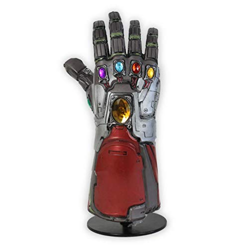 XXF-Arm Avengers 4 Endgame Black Iron Man Infinity Gauntlet Thanos Glove Costume Cosplay Arm Thanos Infinite Gloves