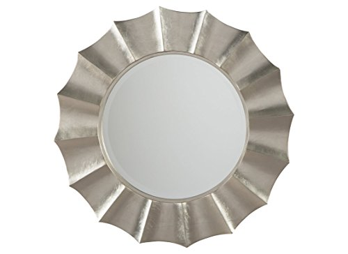 Signature Design by Ashley Elsley Accent Mirror, Silver Finish