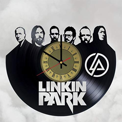 Bennington Clock (Linkin Park Vinyl Clock | Chester Bennington | Best Gift LP Fans | Original Wall Home Decor)