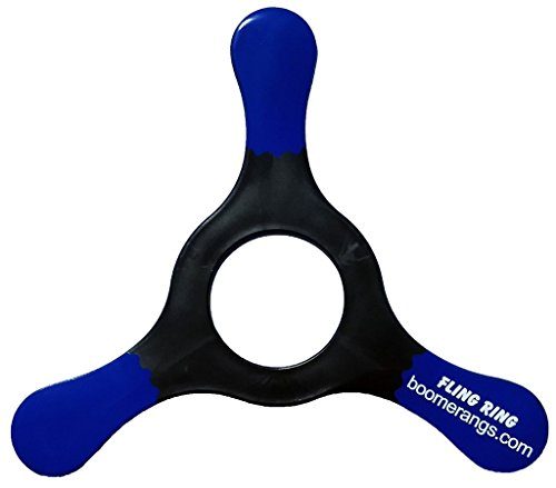 Black Fling Ring Boomerang - Easy Returning Boomerangs! ()