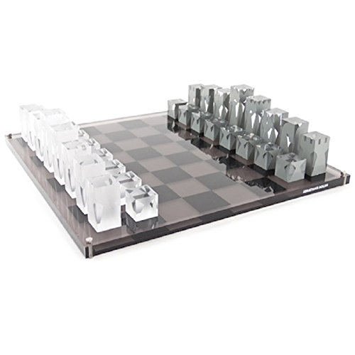 Jonathan Adler Acrylic Game Chess Set