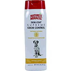 Spectrum Brands Nat Mirc Nature's Miracle Supreme Oatmeal Odor Control Shampoo, 16 oz.