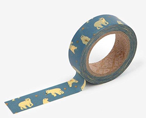 Polar Bear Washi Tape - Love My Tapes