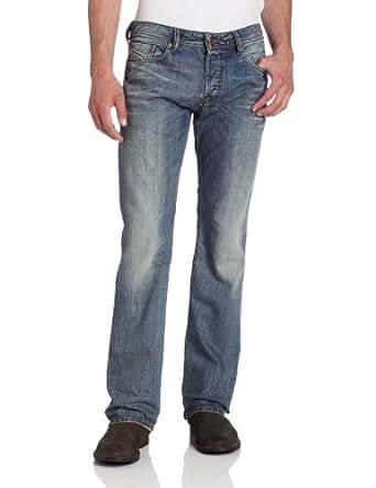 Diesel Men's New Fanker Slim Bootcut Jean 0806R, Denim, 30x34