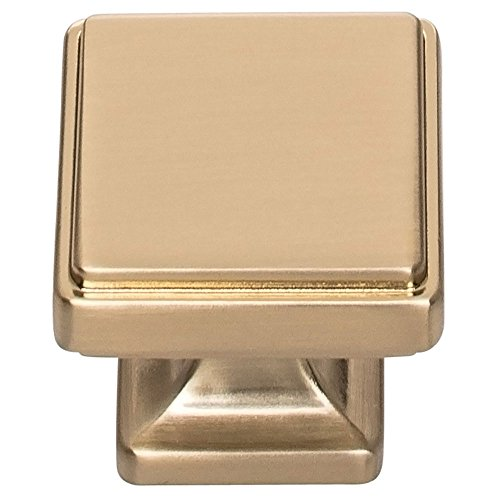 Atlas Homewares A201-WB Kate Collection Knob, Warm Brass