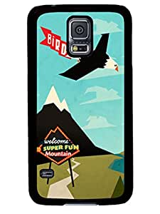 Individualization Outdoor Advertisement Cute Samsung Galaxy S5 I9600 TPU Black Case Cover