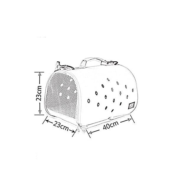 YD Pet Travel Carrier Shoulder Pet Backpack Pet Outing Package Dog Bag Cat Cage Cat Bag Outgoing Portable Dog Bag… Click on image for further info. 2