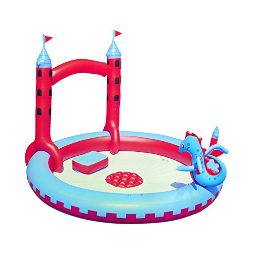 Bestway H2OGO! Inflatable Interactive Castle Play Pool
