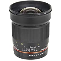 Bower Ultra-Fast Wide-Angle 24mm Focus 1.4 Lens for Pentax (SLY2414P)