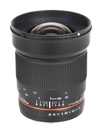 (Bower SLY2414OD Wide-Angle 24mm f/1.4 Lens for Olympus 4/3 Digital)