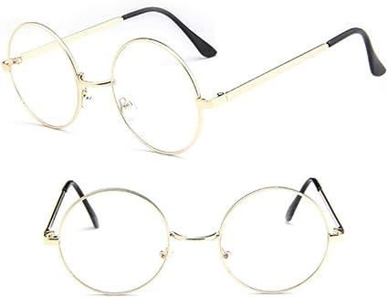 Unisex Vintage Clear Lens Eyeglasses Frame Retro Round Men Women Glasses YK