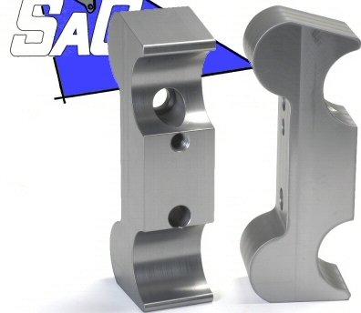 Saco Billet Aluminum Ball Joint Frame To King And Link Pin Axle Beam (Billet Aluminum Ball)