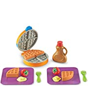 Learning Resources LER9274 New Sprouts Waffle Time! Play Set (14 Piece)