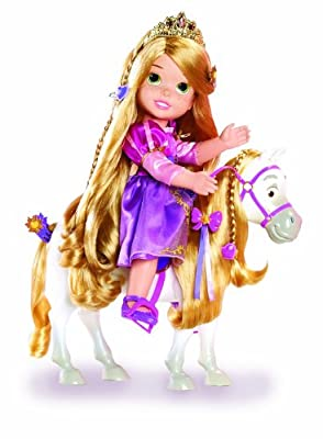 Disney Princess Rapunzel and Maximus